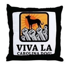 Carolina Dog Throw Pillow