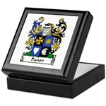 Panov Family Crest Keepsake Box