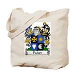Panov Family Crest Tote Bag