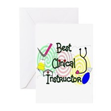 Nursing Instructor Greeting Cards (Pk of 10)