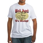 40th Birthday | Well Aged Fitted T-Shirt