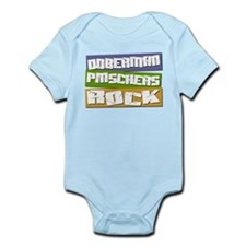 Dobermans ROCK Infant Bodysuit