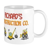 Richard's Construction Tracto Small Mug