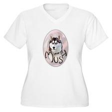siberian husky mush T-Shirt
