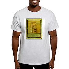 Benjamin Franklin Ash Grey T-Shirt