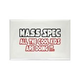 """Mass Spec...Cool Kids"" Rectangle Magnet (10 pack)"