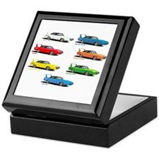 Cute Superbird Keepsake Box