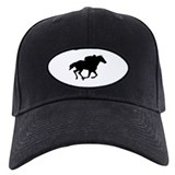 Off the track thoroughbred Baseball Hat