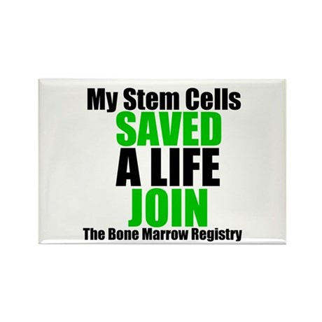 My Stem Cells Saved a Life Rectangle Magnet (10 pa