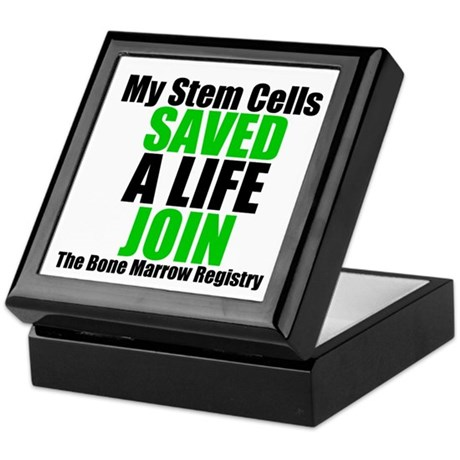 My Stem Cells Saved a Life Keepsake Box