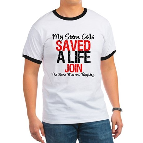 My Stem Cells Saved a Life (G-Red) Ringer T
