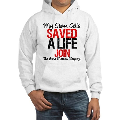 My Stem Cells Saved a Life (G-Red) Hooded Sweatshi