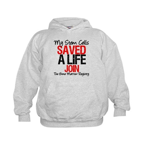 My Stem Cells Saved a Life (G-Red) Kids Hoodie