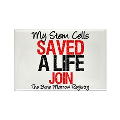 My Stem Cells Saved a Life (G-Red) Rectangle Magne