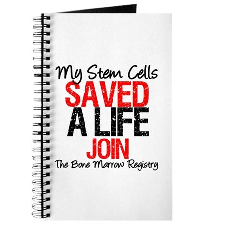 My Stem Cells Saved a Life (G-Red) Journal