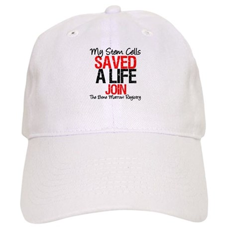 My Stem Cells Saved a Life (G-Red) Cap
