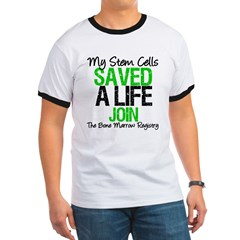 My Stem Cells Saved a Life (G-Grn) Ringer T