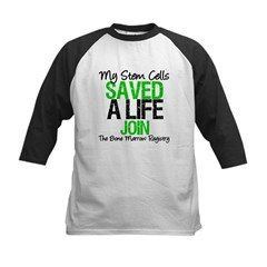My Stem Cells Saved a Life (G-Grn) Kids Baseball J