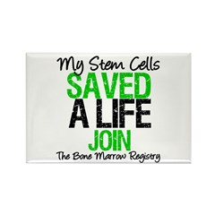 My Stem Cells Saved a Life (G-Grn) Rectangle Magne