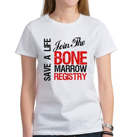 JoinTheBoneMarrowRegistry Women's T-Shirt