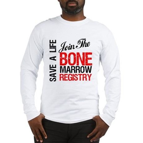 JoinTheBoneMarrowRegistry Long Sleeve T-Shirt