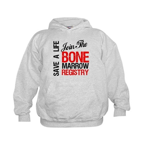 JoinTheBoneMarrowRegistry Kids Hoodie