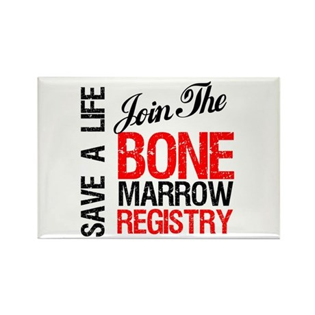 JoinTheBoneMarrowRegistry Rectangle Magnet (10 pac