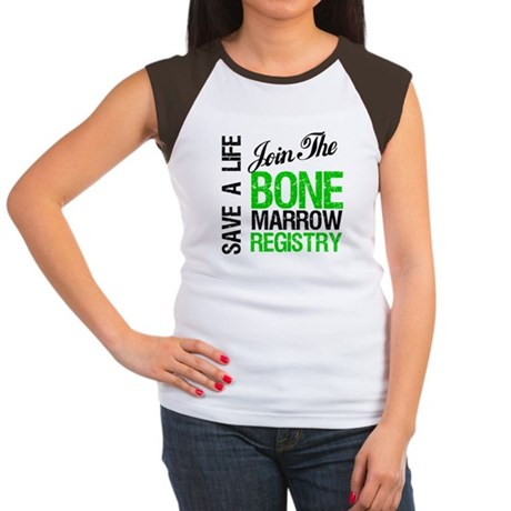 JoinTheBoneMarrowRegistry (G) Women's Cap Sleeve T