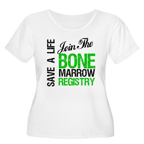 JoinTheBoneMarrowRegistry (G) Women's Plus Size Sc