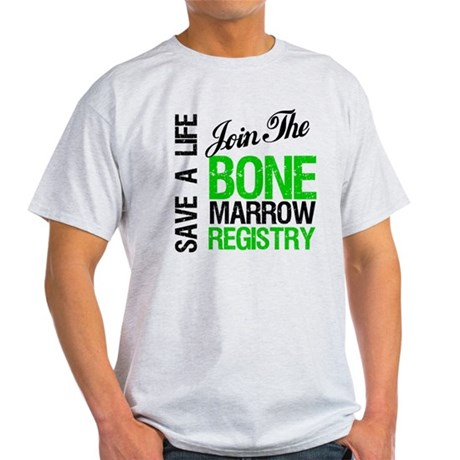 JoinTheBoneMarrowRegistry (G) Light T-Shirt