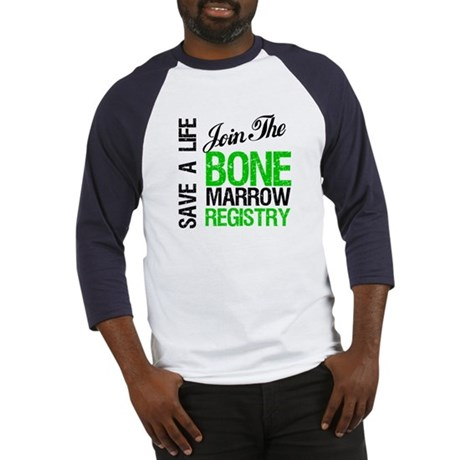 JoinTheBoneMarrowRegistry (G) Baseball Jersey