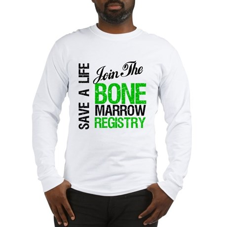 JoinTheBoneMarrowRegistry (G) Long Sleeve T-Shirt