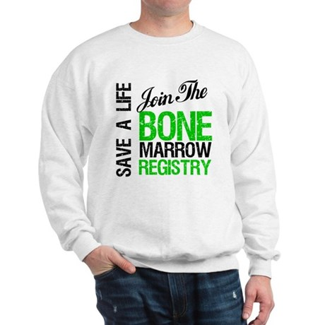 JoinTheBoneMarrowRegistry (G) Sweatshirt