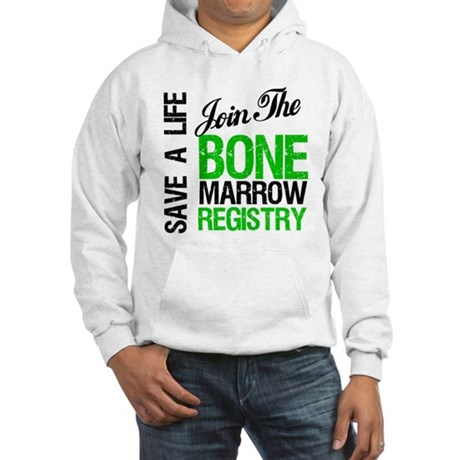 JoinTheBoneMarrowRegistry (G) Hooded Sweatshirt
