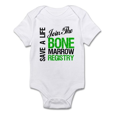 JoinTheBoneMarrowRegistry (G) Infant Bodysuit