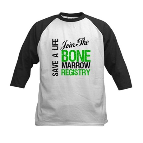 JoinTheBoneMarrowRegistry (G) Kids Baseball Jersey