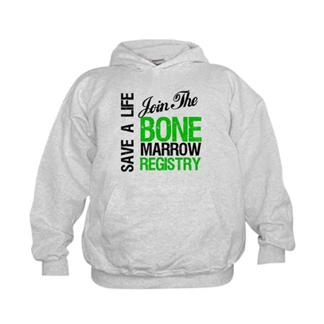 JoinTheBoneMarrowRegistry (G) Kids Hoodie