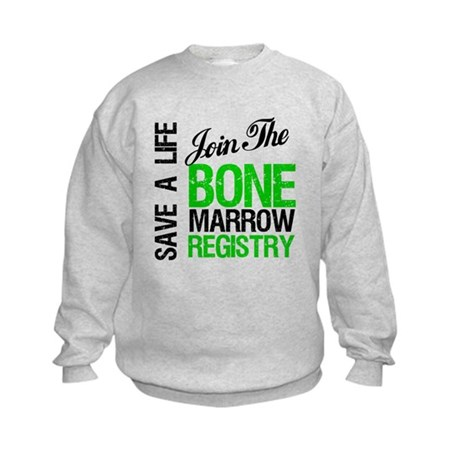 JoinTheBoneMarrowRegistry (G) Kids Sweatshirt