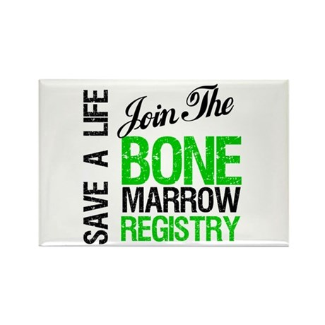 JoinTheBoneMarrowRegistry (G) Rectangle Magnet