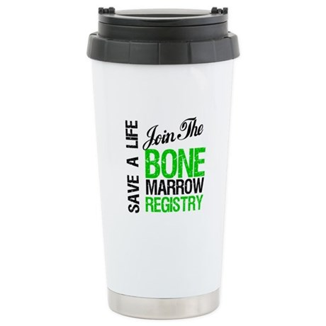 JoinTheBoneMarrowRegistry (G) Ceramic Travel Mug