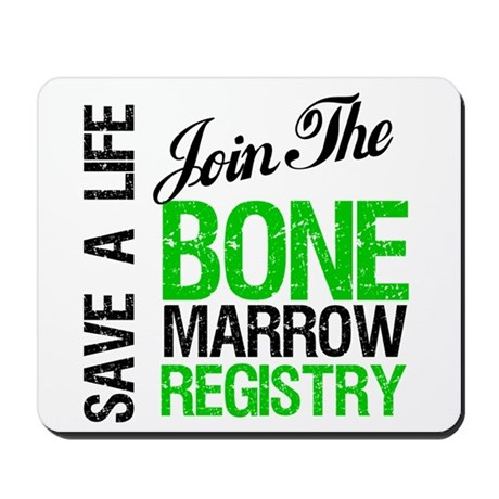 JoinTheBoneMarrowRegistry (G) Mousepad