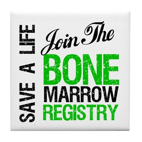 JoinTheBoneMarrowRegistry (G) Tile Coaster