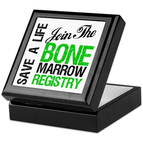 JoinTheBoneMarrowRegistry (G) Keepsake Box