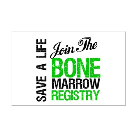 JoinTheBoneMarrowRegistry (G) Mini Poster Print