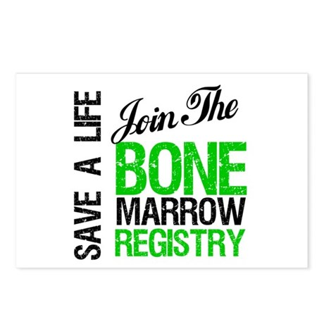 JoinTheBoneMarrowRegistry (G) Postcards (Package o