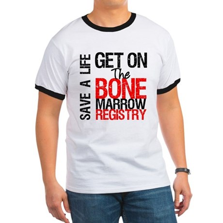 GetOnThe Bone Marrow Registry Ringer T