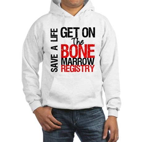 GetOnThe Bone Marrow Registry Hooded Sweatshirt