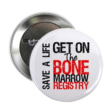 "GetOnThe Bone Marrow Registry 2.25"" Button (10 pac"