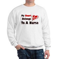 My Heart Nurse Sweatshirt