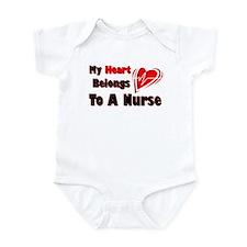 My Heart Nurse Onesie